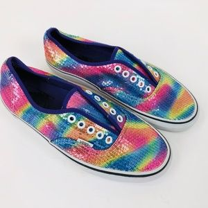 Vans Authentic Donut Unicorn Skate Shoe Women's Size 9.5M